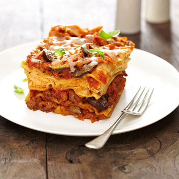 Sausage and Veggie Lasagna