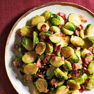 Maple-Bacon Brussels Sprouts