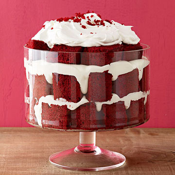 Red Velvet Trifle | Family Circle