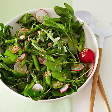 Watercress, Arugula and Asparagus Salad