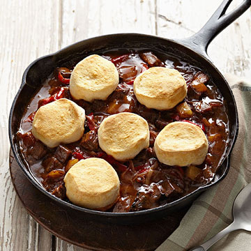 Curried Beef and Biscuits | Family Circle