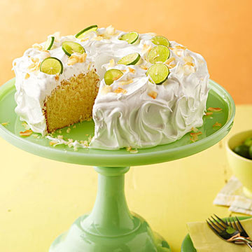 Key Lime Coconut Cake with Marshmallow Frosting | Midwest Living