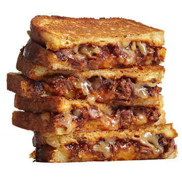 BBQ Brisket Grilled Cheese