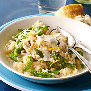 Chicken and Asparagus Risotto | Midwest Living