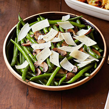 Sauteed Green Beans with Parmesan