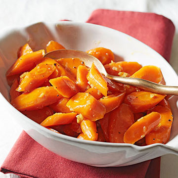 Bourbon Ginger Glazed Carrots | Midwest Living