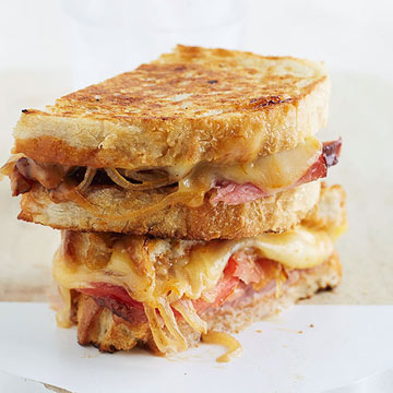 Ultimate Grilled Ham-and-Cheese Sandwich | Midwest Living