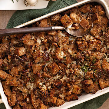 Sourdough, Date and Turkey Sausage Stuffing | Family Circle