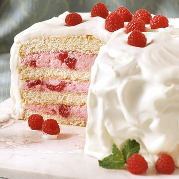 Raspberry Mousse Cake Midwest Living