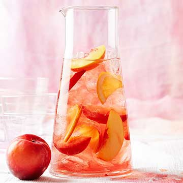 Rosy Stone Fruit Sangria | Midwest Living