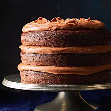 Country Chocolate Cake with Milk Chocolate Frosting Midwest Living