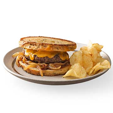Diner-Style Patty Melt