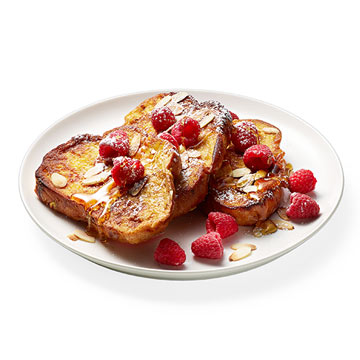 Triple Almond French Toast