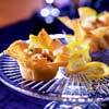 Salmon in Phyllo Cups