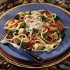 Tuna with Vegetables and Linguine