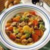 Gingered Beef-Vegetable Stew