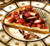 Strawberry-Mascarpone Dessert Pizza