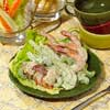 Green Goddess Dressing with Seafood Salad