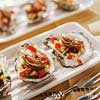 Oysters with Tomato-Fennel Relish