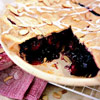 Sweet Glazed Cherry Pie