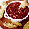 Spicy Sausage and Tomato Dip