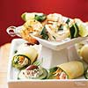 Crab and Vegetable Roll-Ups