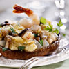 Shrimp-Stuffed Portobello Mushrooms