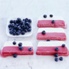 Red, White and Blueberry Ice Cream Dessert