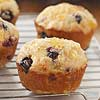 Pineapple-Glazed Banana Blueberry Muffins
