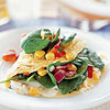 Tex-Mex Spinach Omelet
