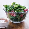 No-Measure Spinach Salad