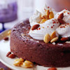 Chile Chocolate Torte with Cinnamon Whipped Cream