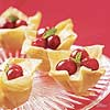 Mini Cranberry Phyllo Tarts