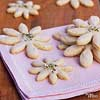 Zingy Lime Flower Cookies