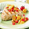 Tuna with Fresh Orange Salsa