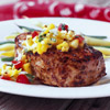 Summer Pork Chops with Corn-Mango Salsa