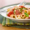 White Bean and Sausage Rigatoni