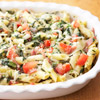 Prosciutto, Spinach, and Pasta Casserole