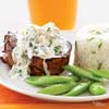 Filet with Crab Topping