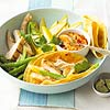 Veggie Wraps with Chicken