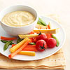 Curry Dip and Veggies
