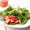 Spinach Salad with Strawberry Vinaigrette