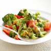 Orange-Sauced Broccoli & Peppers