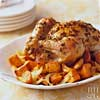 Garlic Chicken with Sweet Potatoes