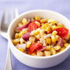 Roasted Fresh Corn and Tomato Salad