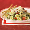 Quick Campanelle with Peas and Artichokes