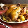 Apple-Glazed Roast Chicken