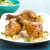 Drumsticks with Peas and Rice