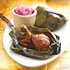 Chicken Baked in Banana Leaves