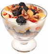 Blackberry & Nectarine Yogurt Parfait